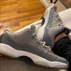 Jordan cool gray 11's
